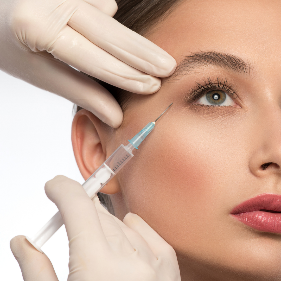 woman having face fillers but she needs to know which brand she is having
